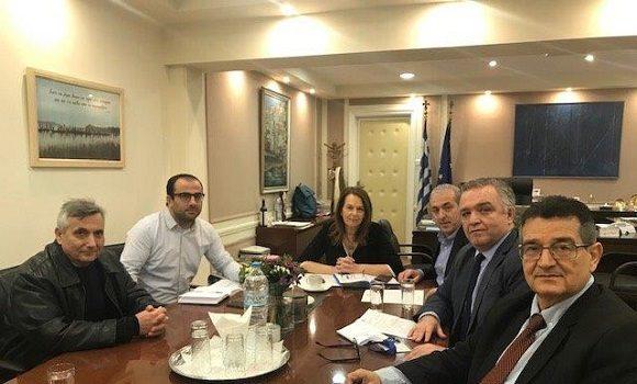 Συνάντηση της Υφυπουργού  Οικονομικών και του Σωκράτη Βαρδάκη με τον Ιατρικό Σύλλογο Ηρακλείου