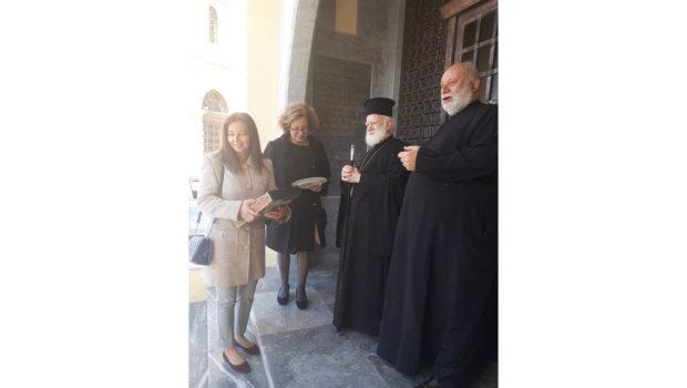 Συνάντηση για τα προβλήματα του Αγίου Μηνά
