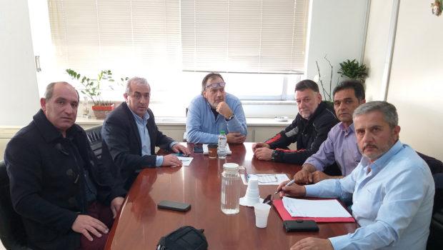 Εργασιακά θέματα των επαγγελματιών οδηγών τέθηκαν στις συναντήσεις του Σωκράτη Βαρδάκη και του Σωματείου ΕΡΜΗΣ στο Υπουργείο Εργασίας
