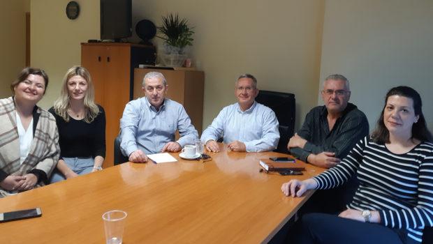 Συνάντηση στον ΟΑΕΔ για τα προβλήματα του οργανισμού και των εργαζομένων