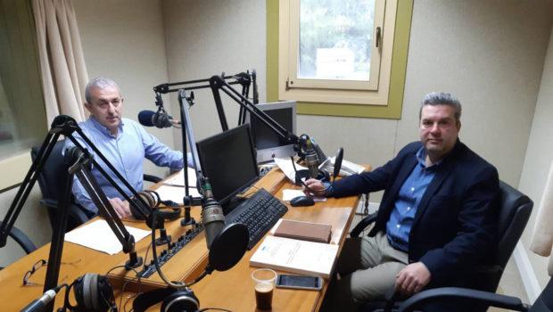 Συνέντευξη του Σωκράτη Βαρδάκη στο Ράδιο Κρήτη 105.5