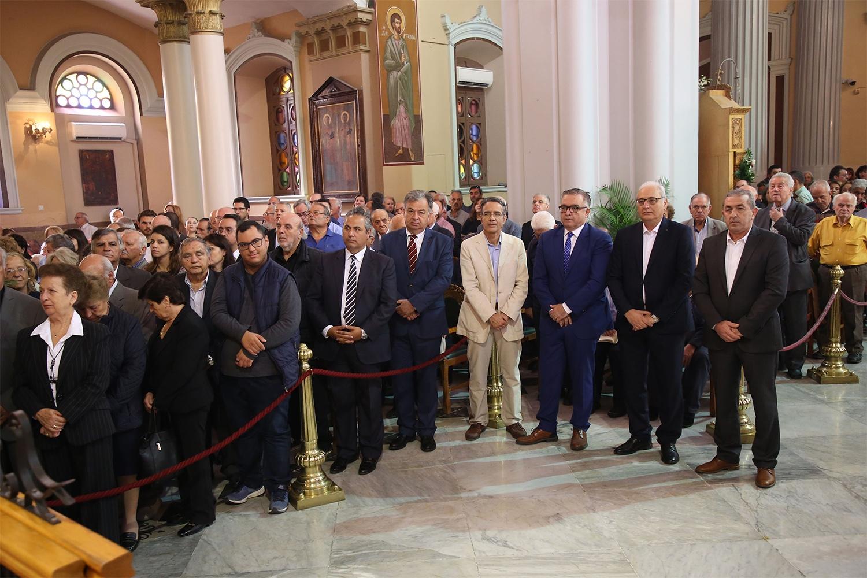Ο Όρθρος και η Συνοδική Θεία Λειτουργία στην Μητρόπολη της πόλης του Ηρακλείου τον Άγιο Μηνά