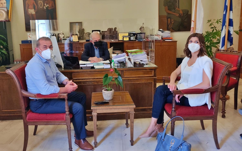Συνάντηση με τον Δήμαρχο Ηρακλείου