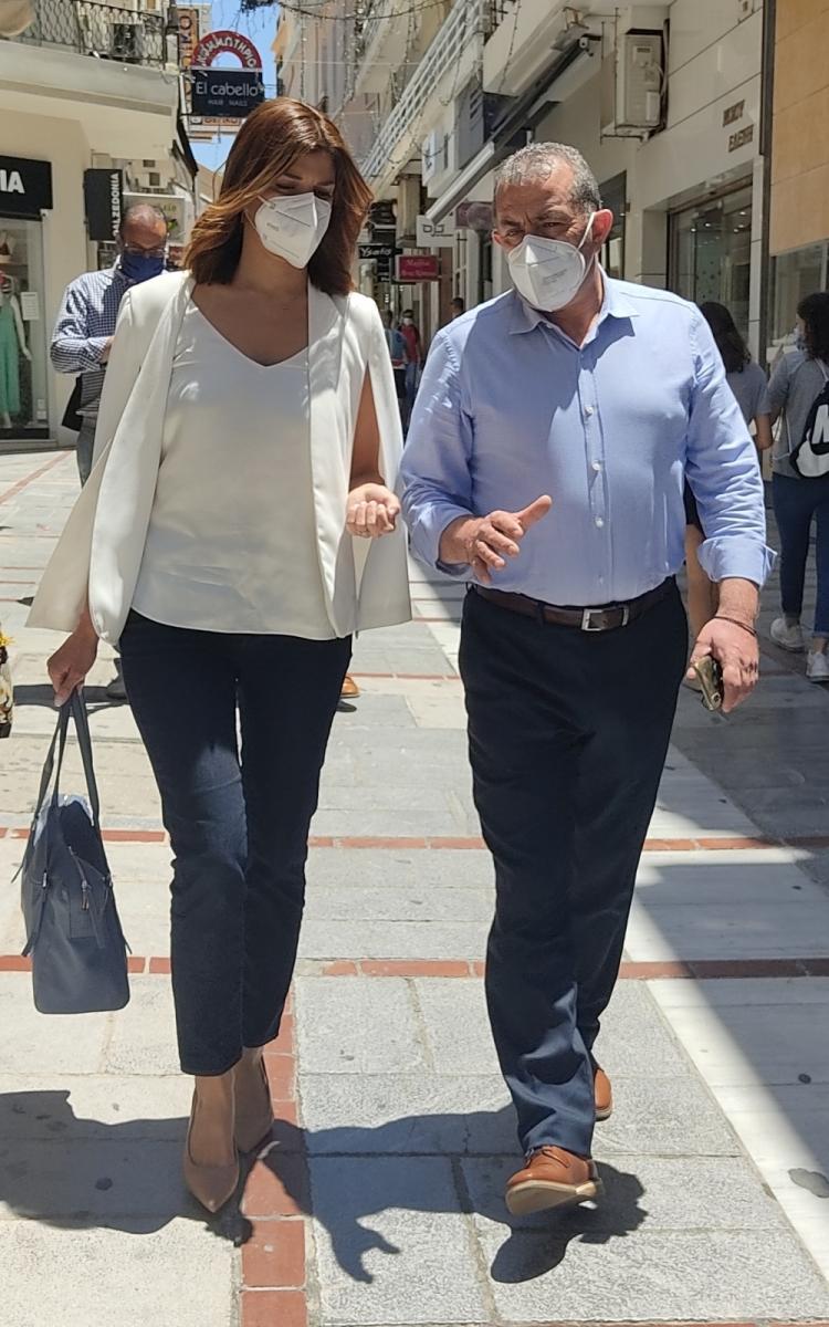 Με την Κατερίνα Νοτοπούλου στο Ηράκλειο