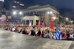 Πλήθος κόσμου για την ομιλία Πρωθυπουργού Αλέξη Τσίπρα