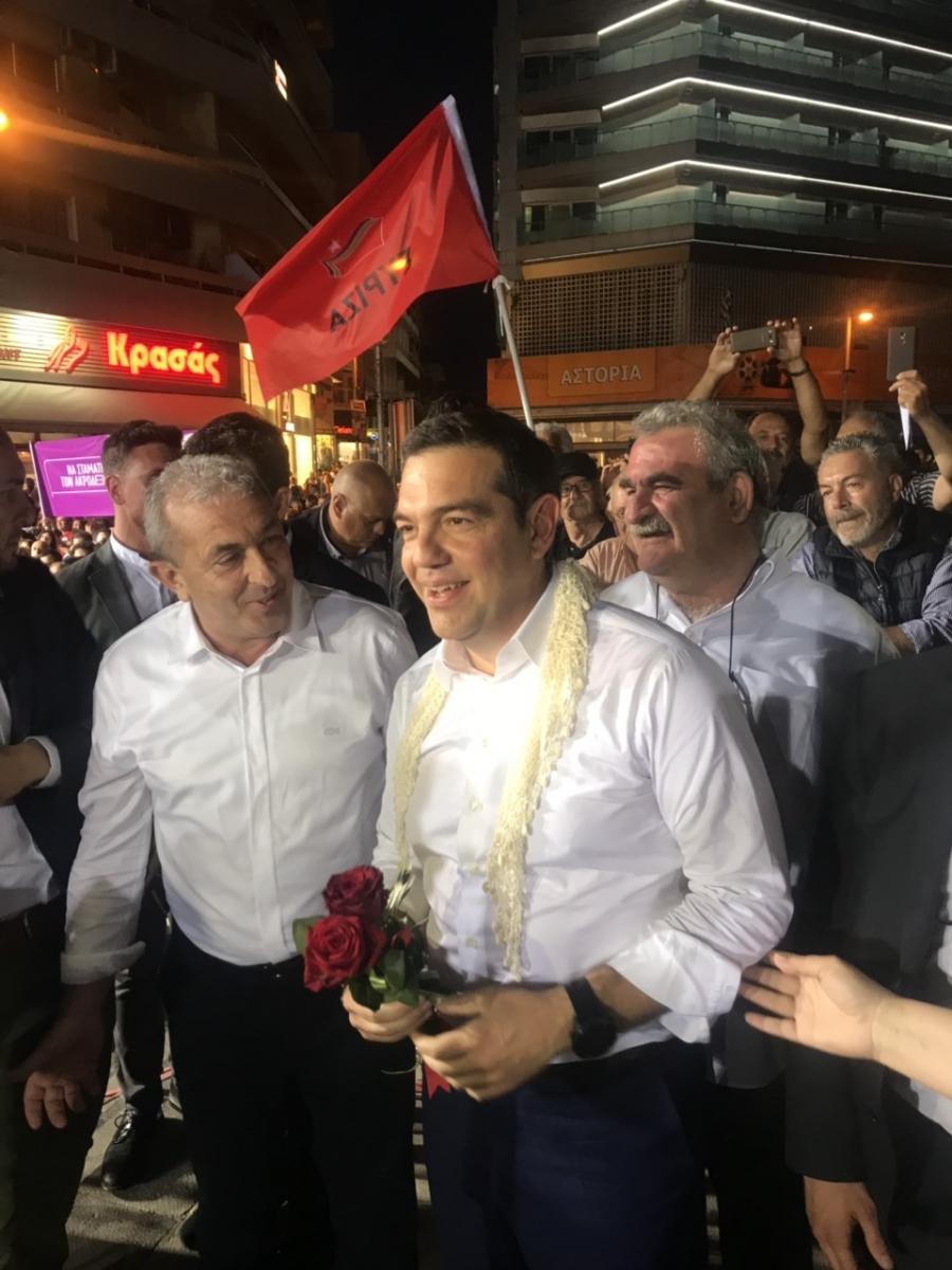 Με τον Πρωθυπουργό Αλέξη Τσίπρα