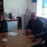 Επίσκεψη του Σ. Βαρδάκη στο Αστυνομικό Μέγαρο