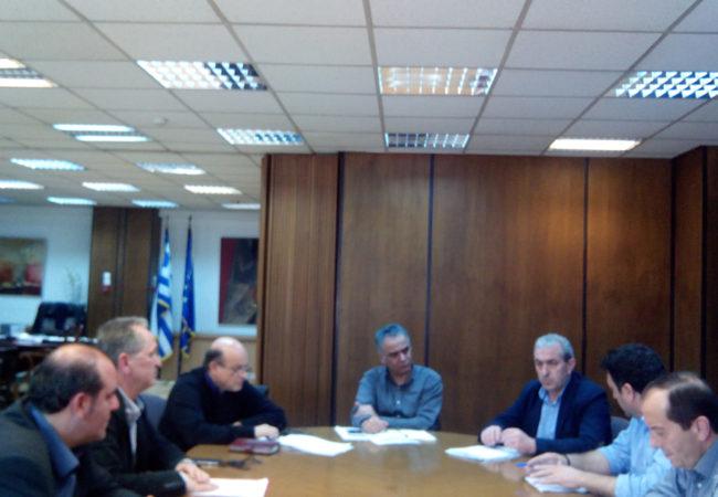 Σύσκεψη στο Υπουργείο Εργασίας