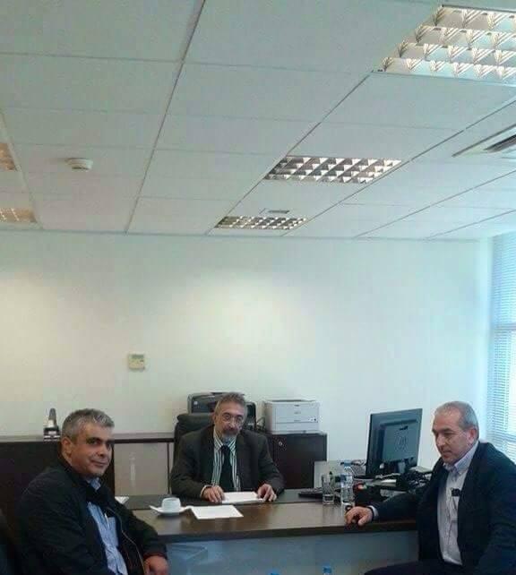 Συνάντηση με τον Αντιπρόεδρο του ΔΕΔΔΗΕ A.E., κ. Σπίγκο Χρήστο