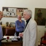 Συνάντηση με τον Αναπληρωτή Υπουργό Αγροτικής Ανάπτυξης, κο Τσιρώνη στο γραφείο του Δημάρχου Ηρακλείου, στις 18 Ιουνίου 2015