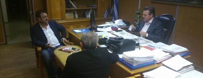 Συνάντηση με Υφυπουργό Εργασίας, κο Πετρόπουλο, με θέμα την επιστροφή του επιδόματος τοκετού