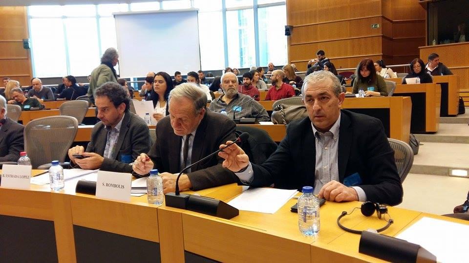Ο Σωκράτης Βαρδάκης μιλάει στις Βρυξέλλες για τις εργασιακές σχέσεις