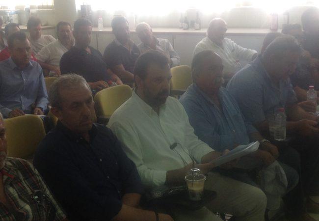 Ο Σωκράτης Βαρδάκης στην Γενική Συνέλευση του Συλλόγου Παραδοσιακών Καζανάριδων Κρήτης