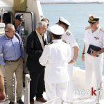 Από την συνάντηση του κ. Δρίτσα με τα στελέχη του Λιμεναρχείου Ηρακλείου