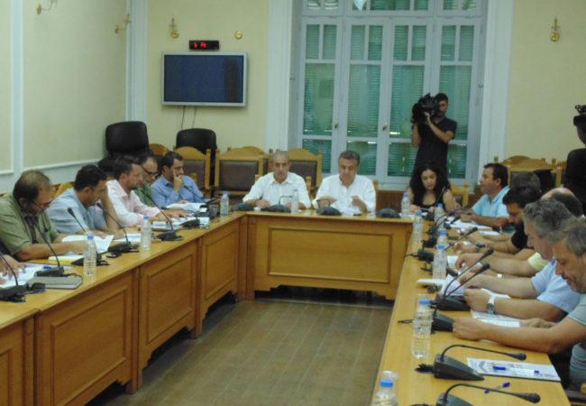 Παρουσία του Σωκράτη Βαρδάκη στην σύσκεψη φορέων για θέματα τομέα Υγείας της Μεσσαράς στην Περιφέρεια Κρήτης