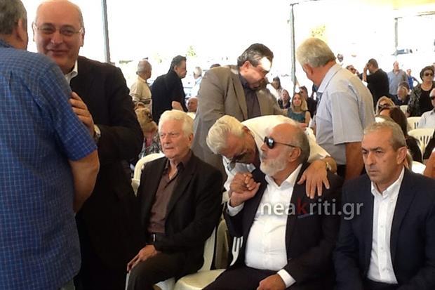 Στην εκδήλωση Τιμής, Μνήμης και Διεκδίκησης για το ολοκαύτωμα της Βιάννου