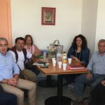 Σύσκεψη του Σωκράτη Βαρδάκη με τον Υποδιοικητή ΔΥΠΕ Κρήτης, τον Δήμαρχο Φαιστού και την Επιτροπή Υγείας φορέων – πολιτών Μεσαράς