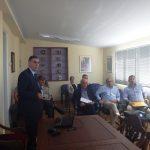 Συνάντηση στο Τ.ΕΘ.Α. για την παραχώρηση έκτασης και ανέγερση σχολείου στον Καρτερό