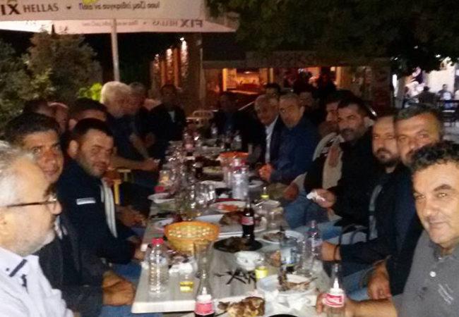 Συνάντηση Σωκράτη Βαρδάκη με αγρότες, κτηνοτρόφους και αποσταγματοποιούς στο Μαλεβίζι