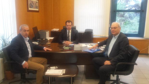 Επίσκεψη του Βαρδάκη Σωκράτη με τον Δήμαρχο Βιάννου στο Υπουργείο Εργασίας και στο Υπουργείο Υποδομών