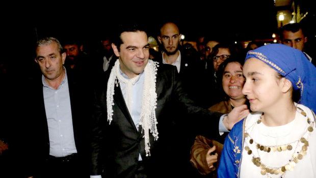 Στιγμιότυπα από την επίσκεψη Τσίπρα στο Ηράκλειο