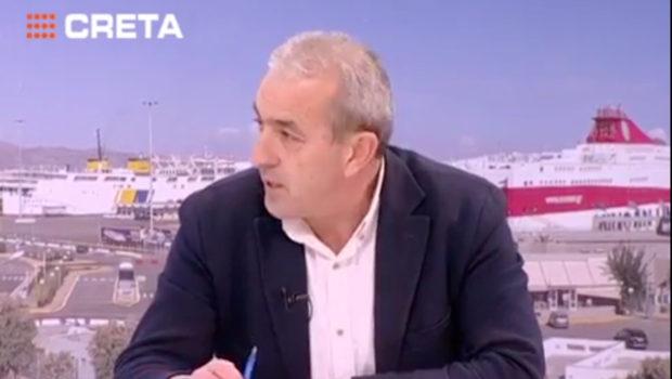 Τηλεφωνική παρέμβαση Σωκράτη Βαρδάκη για το Σκοπιανό (TV Creta)