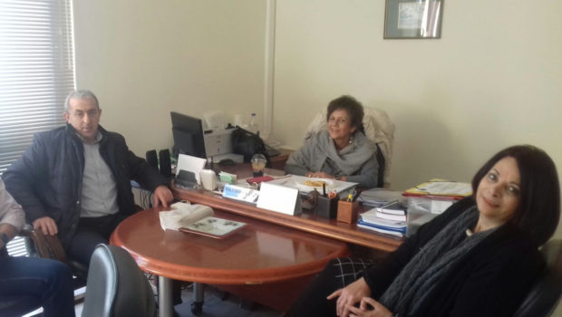 Συνάντηση Βαρδάκη Σωκράτη με την Διοίκηση της 7ης ΥΠΕ