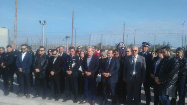 Ο Βαρδάκης Σωκράτης στην τελετή μνήμης των θανόντων εν υπηρεσία Αστυνομικών