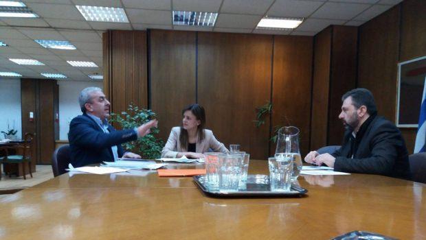 Συνάντηση Βαρδάκη Σωκράτη με Υπουργό Εργασίας για εργασιακά θέματα και στελέχωση υποκαταστημάτων ΕΦΚΑ