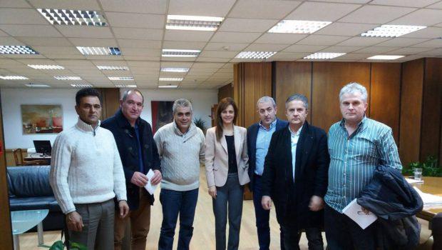 Συνάντηση Σ. Βαρδάκη με την Υπουργό Εργασίας, το Σωματείο Ερμής και την ΟΣΜΕ