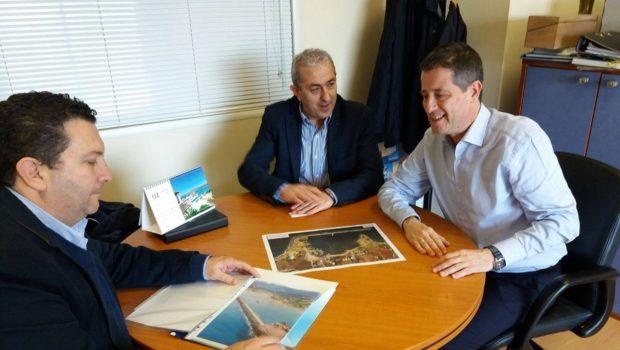 Συνάντηση Βαρδάκη Σωκράτη με τον γ.γ. Τουριστικής Πολιτικής για την μαρίνα Μαλίων