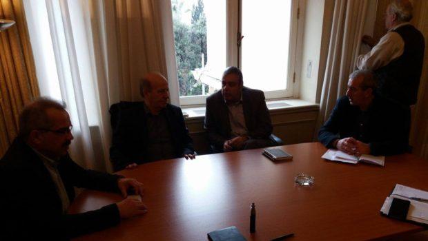 Συνάντηση πραγματοποίησε ο Βαρδάκης Σωκράτης με τον Υπουργό Επικρατείας κ. Βερναδάκη Χριστόφορο