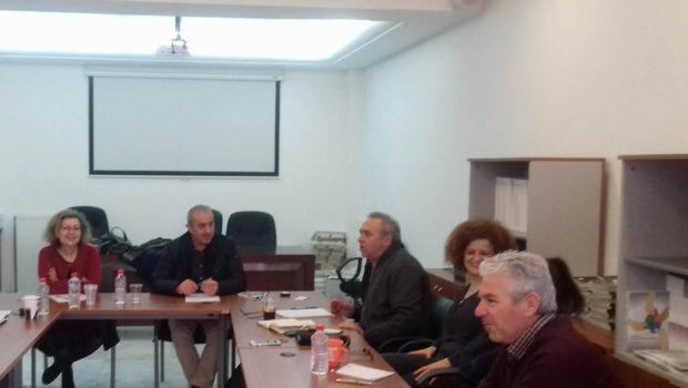 Επίσκεψη και συνάντηση εργασίας στην Αναπτυξιακή Ηρακλείου πραγματοποίησε ο Σωκράτης Βαρδάκης