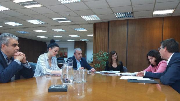 Συνάντηση Βαρδάκη με την Υπουργό Εργασίας Αχτσιόγλου και μέλη του προεδρείου της Ένωσης Τεχνικών Ομίλου ΔΕΗ – ΚΗΕ