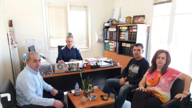 Επίσκεψη του Σ. Βαρδάκη στο Σώμα Επιθεώρησης Εργασίας στο Ηράκλειο