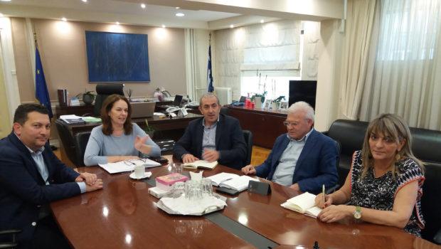 Συνάντηση με την Υφυπουργό Οικονομικών για την παραχώρηση παραλιών και θέματα που απασχολούν τον Δήμο Χερσονήσου