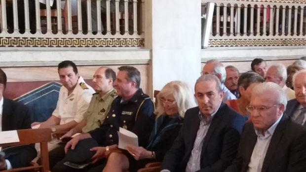 Ο Σωκράτης Βαρδάκης στην τιμητική εκδήλωση για την 150η επέτειο της Μάχης του Οροπεδίου Λασιθίου