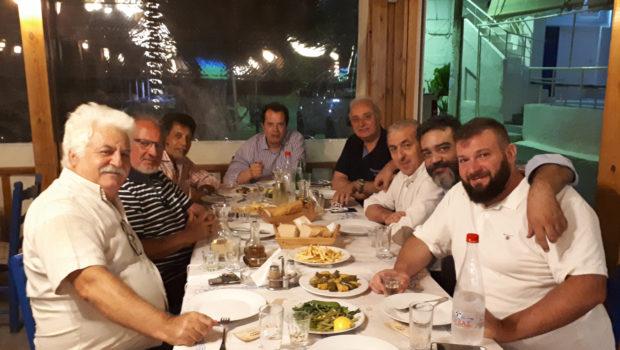 Συνάντηση Σ. Βαρδάκη με τον γ.γ. Υποδομών στον Δήμο Βιάννου