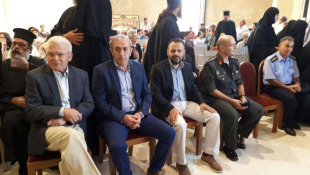 Ο Σωκράτης Βαρδάκης στην εκδήλωση για τον Αρχιεπίσκοπο Κρήτης