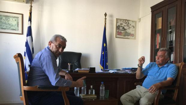 Συνάντηση με Δήμαρχο και Αντιδήμαρχους Φαιστού