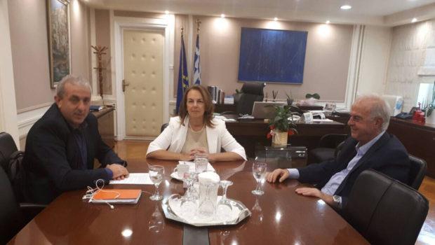 Συναντήσεις Βαρδάκη στα Υπουργεία Οικονομίας και Εσωτερικών για θέματα του Δήμου Ηρακλείου
