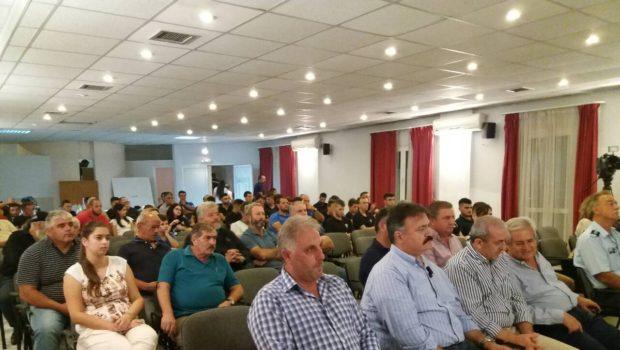 Στην εκδήλωση για ενημέρωση και πρόληψη τροχαίων ατυχημάτων από το Δ.Σ. του ΠΑΟΚ Κρουσώνα ο Σωκράτης Βαρδάκης