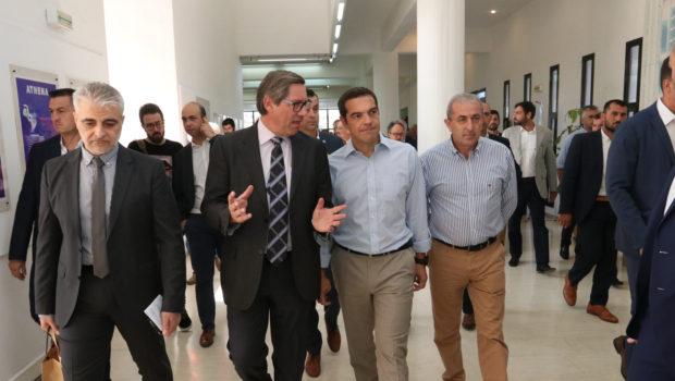 Επίσκεψη Αλέξη Τσίπρα στο Ηράκλειο