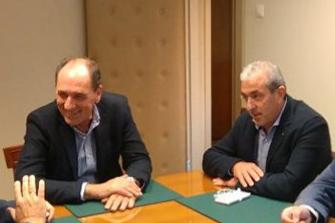 Συνάντηση Βαρδάκη με τον Πρόεδρο Περιβαλλοντικού Συλλόγου Αγίας Τριάδας και τον Υπουργό Περιβάλλοντος