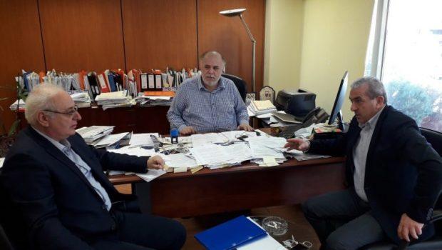 Η σχολική στέγη στο επίκεντρο συνάντησης του Μπαριτάκη – Καραγιάννη