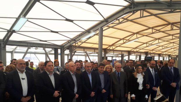 Στα εγκαίνια του νέου τερματικού σταθμού στο λιμάνι ο Σ. Βαρδάκης
