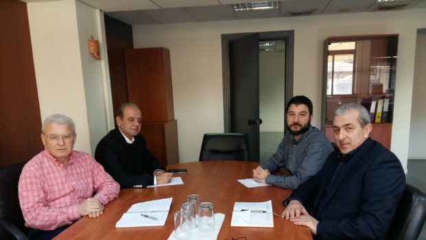 Συνάντηση Βαρδάκη – Θραψανιώτη με Ειδικό Γραμματέα ΣΕΠΕ