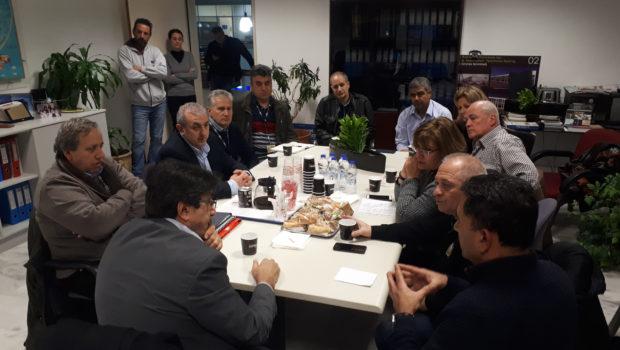 Συνάντηση Σωκράτη Βαρδάκη για θέματα λειτουργίας αεροδρομίου Ηρακλείου