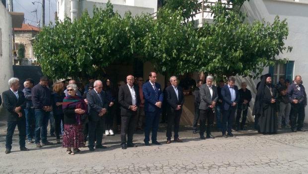 Στην εκδήλωση για την Μάχη της Κρήτης στο Αρκάδι ο Σωκράτης Βαρδάκης