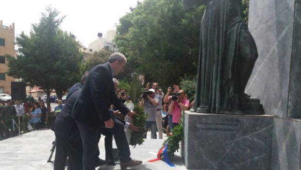 Στις εκδηλώσεις για την Μάχη της Κρήτης ο Σωκράτης Βαρδάκης